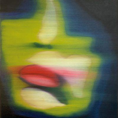 """Rote Lippen"" Öl auf Leinwand 60x90cm 320€"