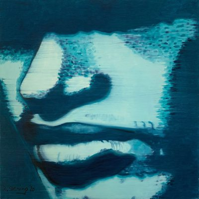 """""""Gesichter 1""""  Öl auf Leinwand 60x60cm 320€"""