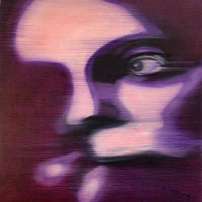 """""""Gesichter 3""""  Öl auf Leinwand 60x60cm 320€"""