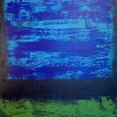 """Komposition""  Acryl auf Leinwand 65x105cm 390€"
